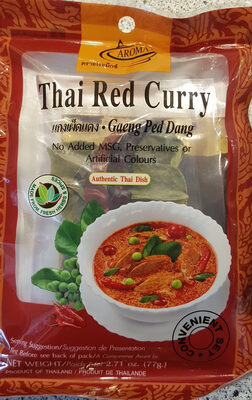 Aromax Thai Red Curry (2,58 Eur / 100 G) - Product