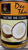 Leche de coco - Produit - es