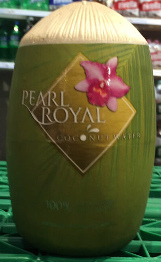 Pearl Royal, Coconut Water - Prodotto - fr