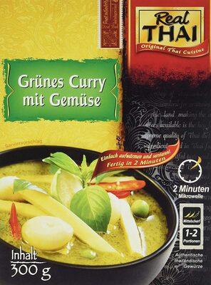 Grünes Curry mit Gemüse - Product