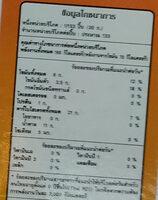เวเฟอร์แผ่นเตย - Informations nutritionnelles