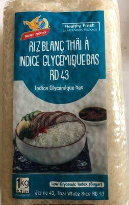 Riz blanc Thai indice glycemique bas - Product - fr