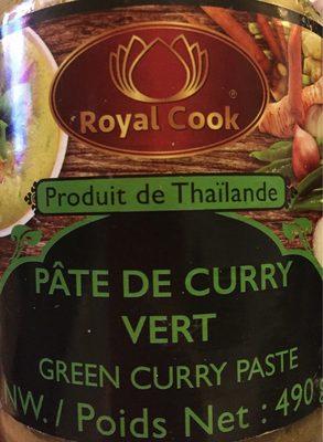 Pate de curry vert - Product