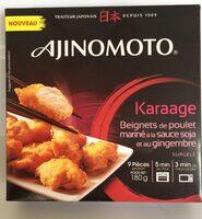 Karaage Beignets poulet - Product - fr