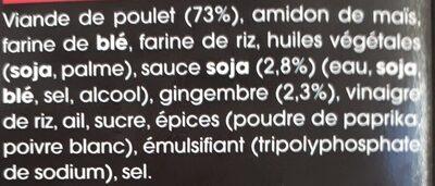 Karaage Beignets poulet - Ingredients - fr