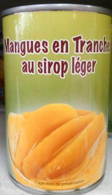 calorie Mangues en tranches au sirop léger