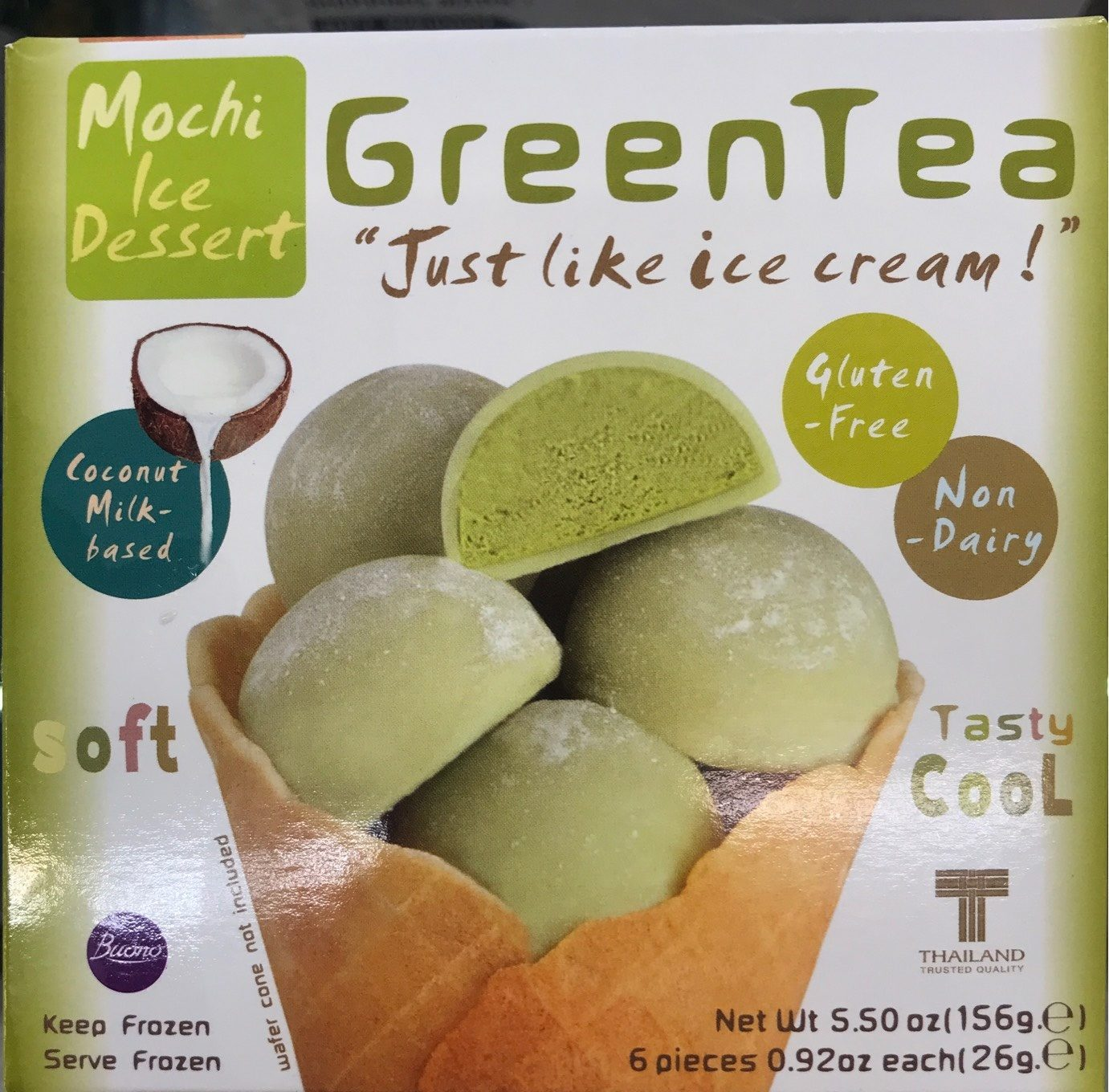 Mochi Green Tea - Product - fr