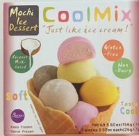 Mochi Ice Dessert - Cool Mix - Produit