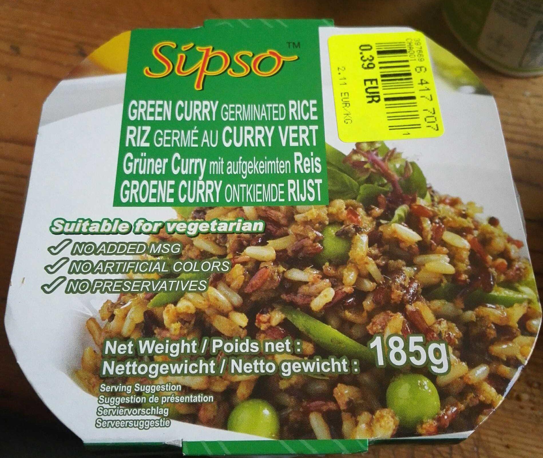 Riz Germé au Curry Vert - Produit - fr