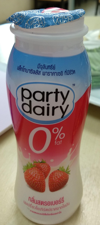 นมเปรี้ยว กลิ่นสตอเบอรี่ - Product