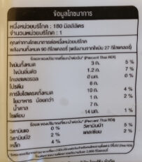 Tofusan soy milk - Nutrition facts
