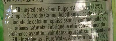 Eloa citron vert - Ingrédients - fr