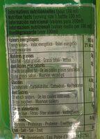 Eloa citron vert - Informations nutritionnelles - fr