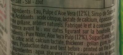 Eloa litchi - Ingredients - fr