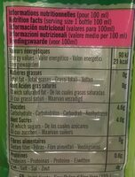 Aloe vera drink lychee flavour - Nutrition facts - fr