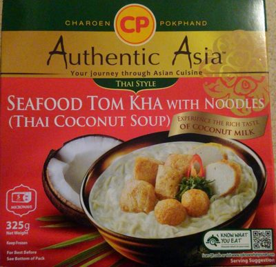 Seafood Tom Kha with Noodles (Thai Coconut Soup) - Product