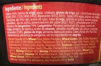 Authentic asia - Ingrediënten - es