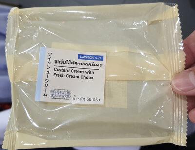 ชูครีสไส้คัสตาร์ดครีมสด - Prodotto - th