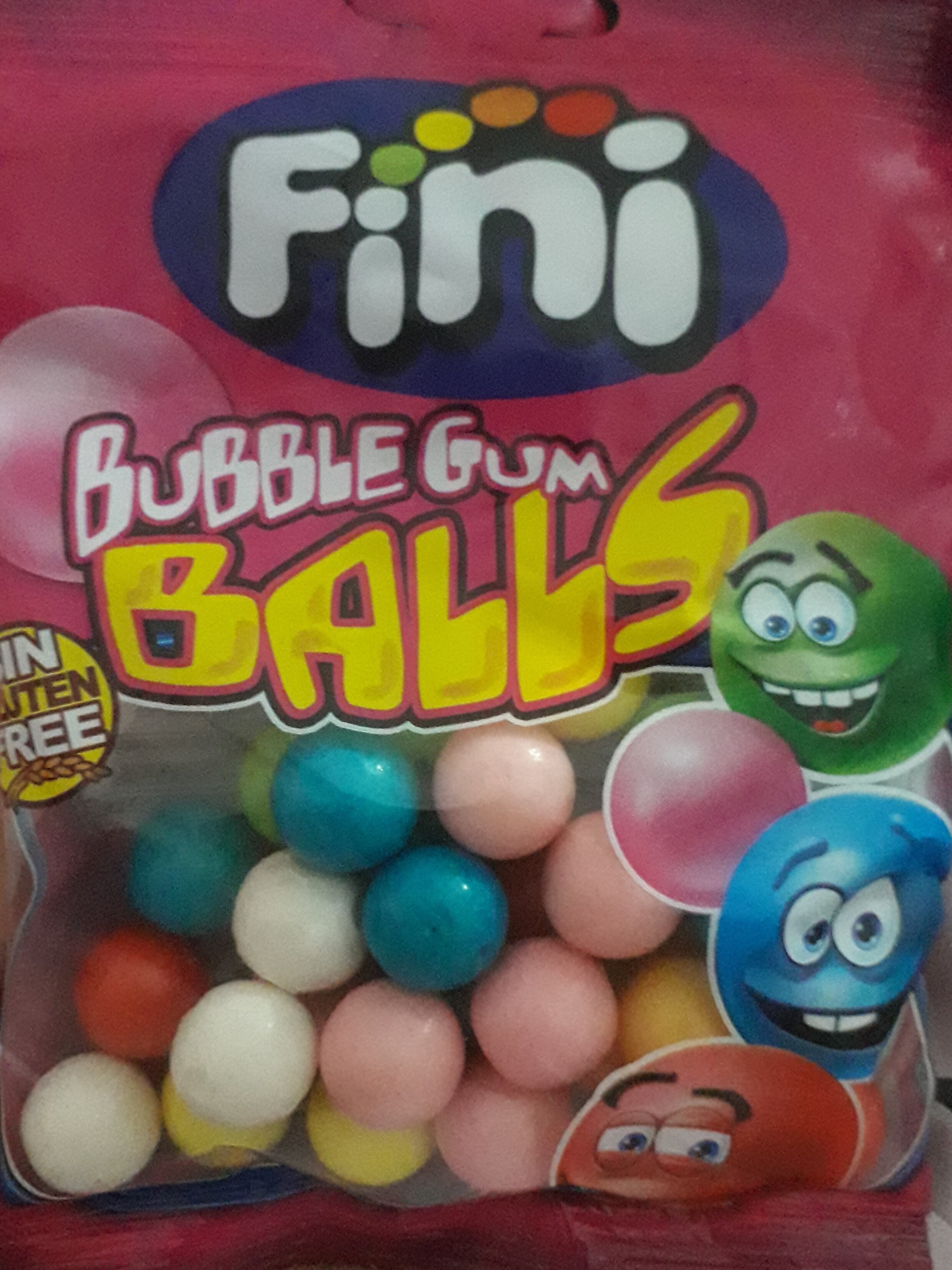 Bubble gum balls - نتاج - en