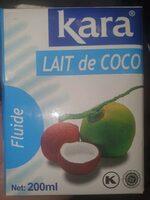 Lait de coco - Product - en