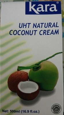 UHT Natural Coconut Cream - Product