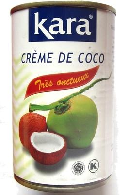 Crème de coco - Produit