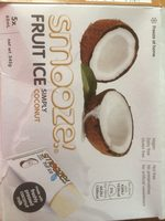 SMOOZE glace aux fruits simplement coco - Product - fr
