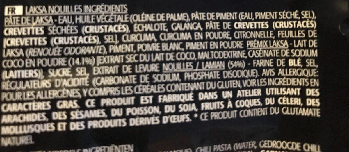 Prima Taste - Noodle - Ingrédients - fr