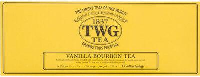 Vanilla bourbon tea - Producto - en