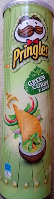Pringles Green Curry Flavour - Product