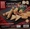 oriental chicken snacks - Product