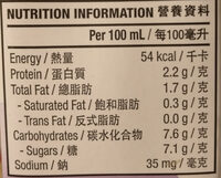 Black Soy Milk - Nutrition facts