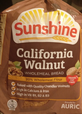California Walnut Wholemeal bread - Product