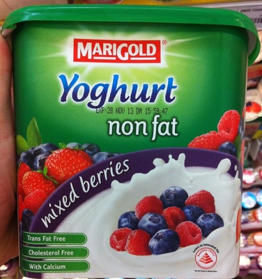 Yoghurt mixed berries - Product - en