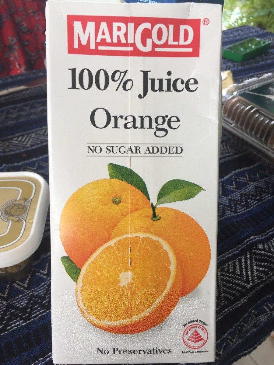 100% Juice Orange - Produit - fr