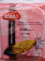 Nouilles chinoises instantanées à l'orientale goût crabe - Produit - fr