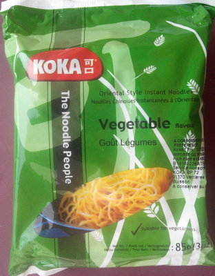 Nouilles chinoises instantanées à l'orientale goût légumes - Produit - fr