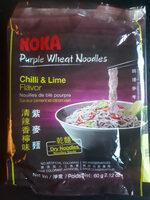 Purple Wheat Noodles (Chilli & Lime Flavor) - Produit - fr