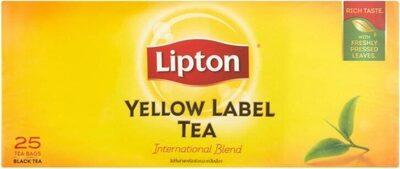 Lipton Yellow Label Black Tea 25 X 2G (50G) - Product - en
