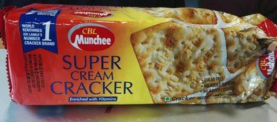 Munchee Cream Crackers 190G X4 + Cloth - Product