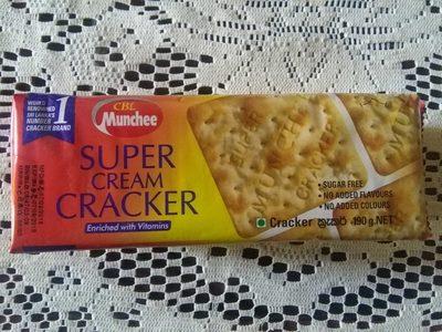 Munchee Cream Crackers 190G X4 + Cloth - Ingredients