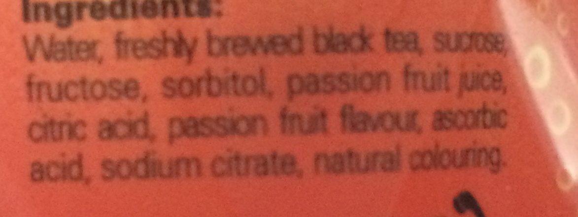 Pokka Ice Passion Fruit Tea - Ingrediënten - fr