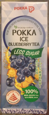 Ice Blueberry Tea - Product - en