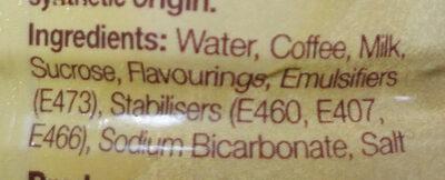 Premium milk coffee - Ingrediënten - en