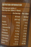 Premium milk coffee - Voedingswaarden - en