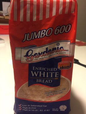 Enriched white bread - Product