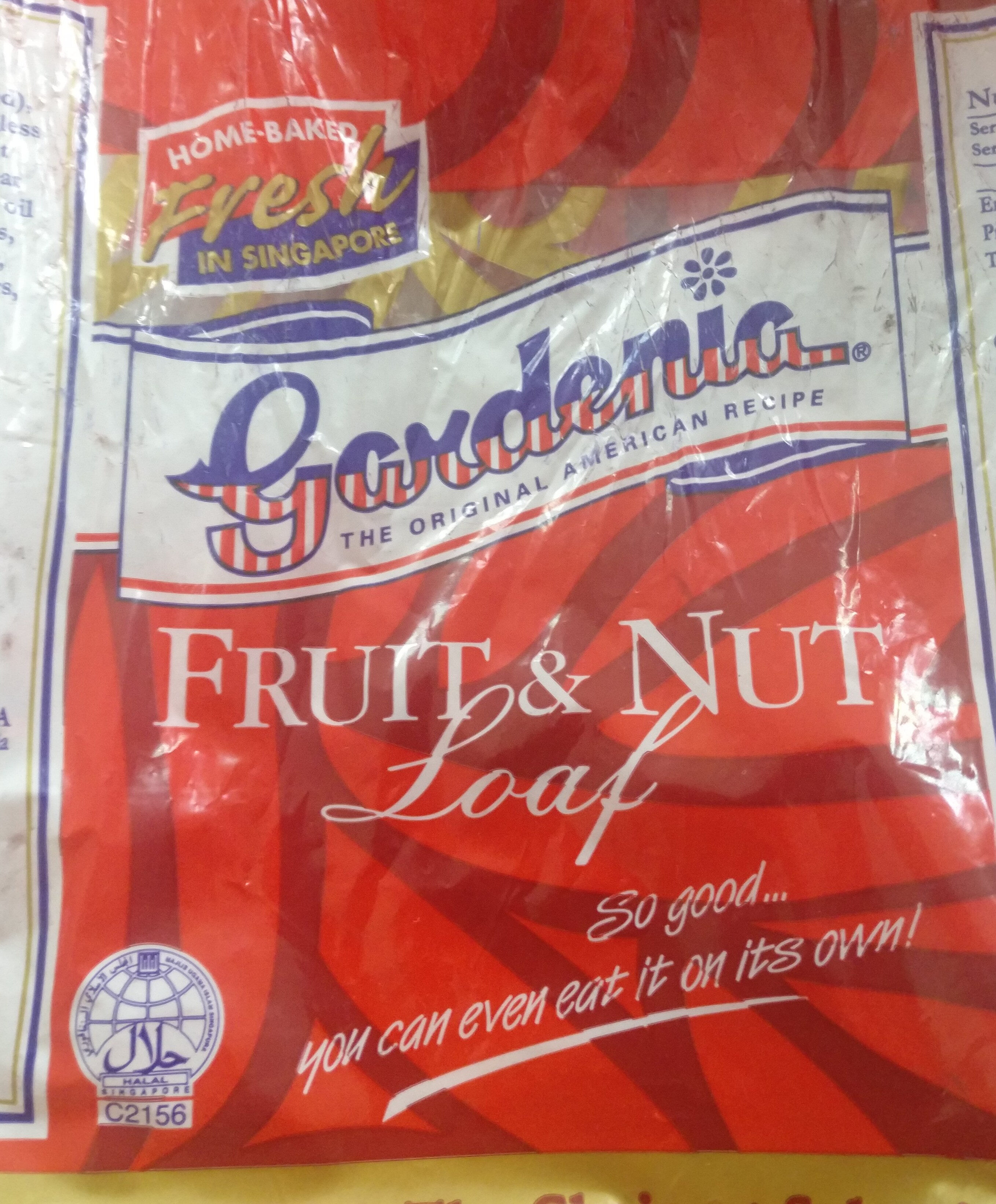 Fruit & Nut Loaf - Product - en
