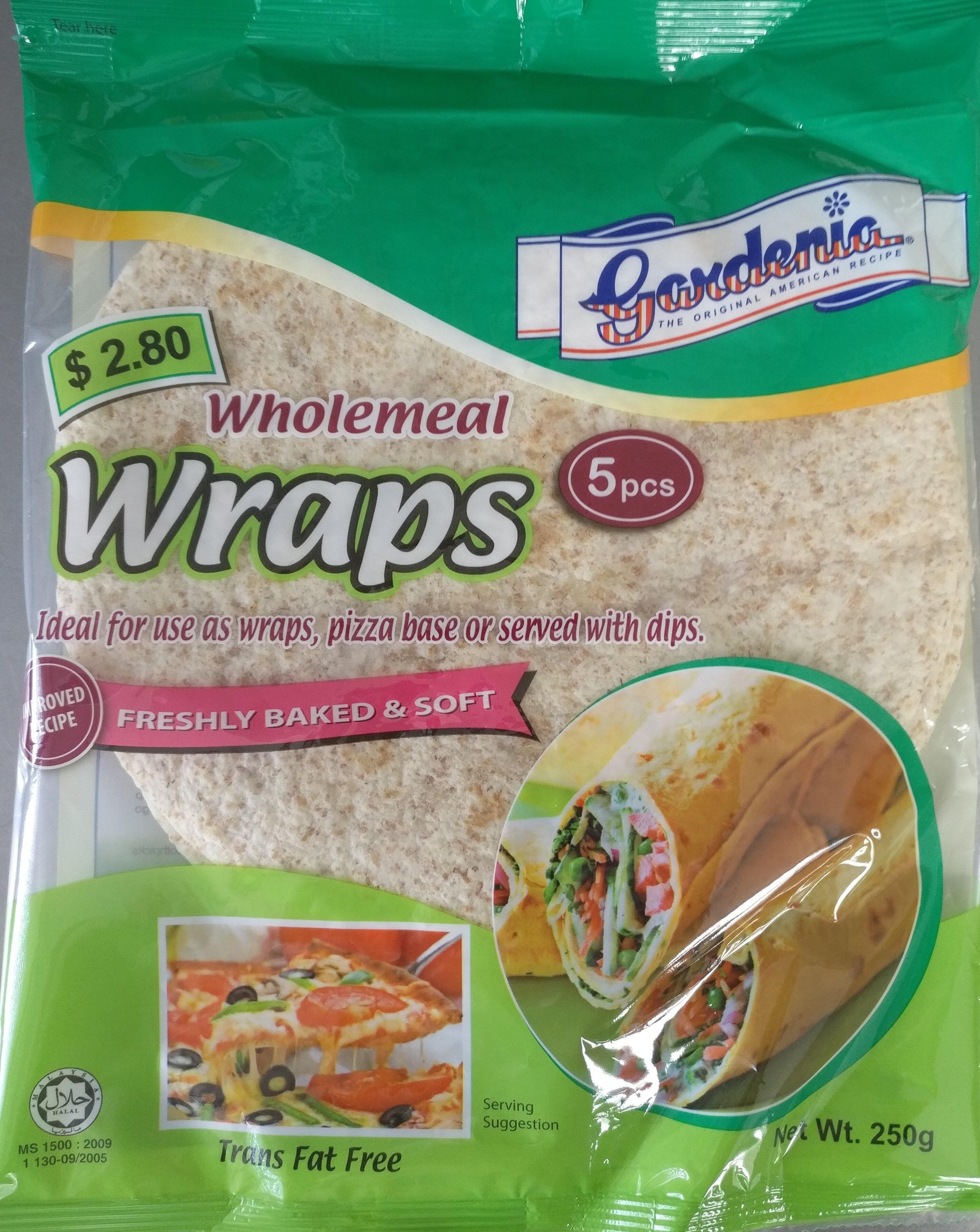 Wholemeal Wraps 5pcs - Produit - en