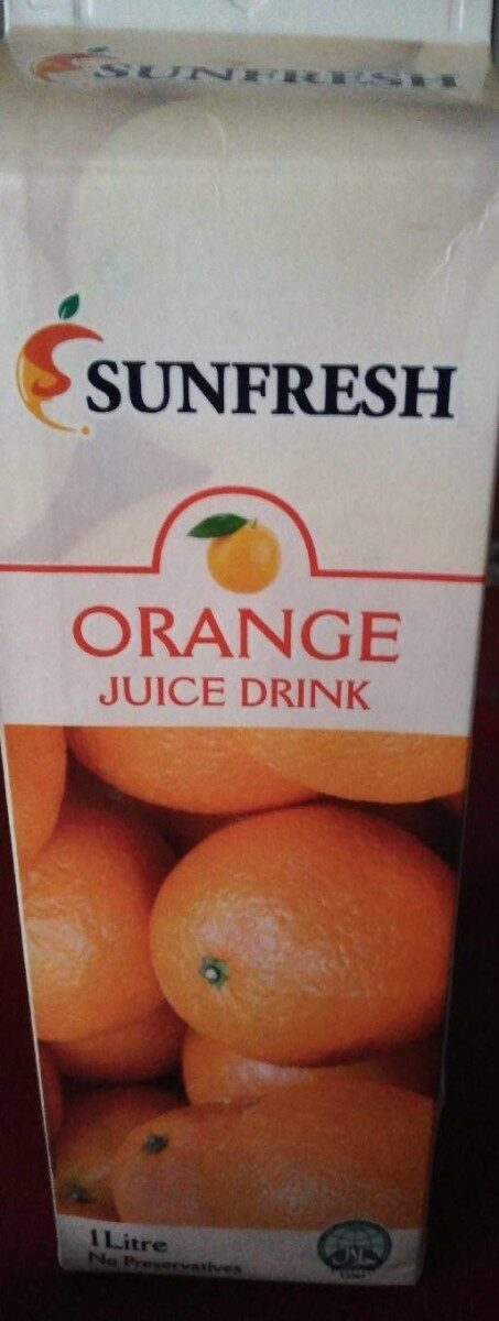 Orange juice drink - Product - fr