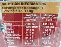 Nissin Ramen Tokyo Shoyu Flavour - Nutrition facts - en